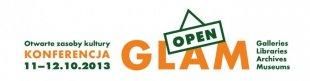 "Konferencja ""openGLAM 2013. Otwarte zasoby kultury"""