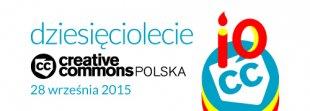 "Zapraszamy na""Bits & Commons"", 10 rocznicę Creative Commons Polska"