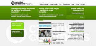 Nowa strona Creative Commons Polska
