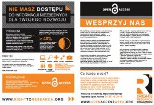 Open Access Week 2011 – co się będzie działo wWarszawie inietylko