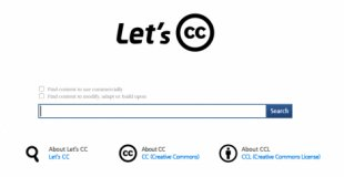Wygodna wyszukiwarka zasobów nalicencjach CC