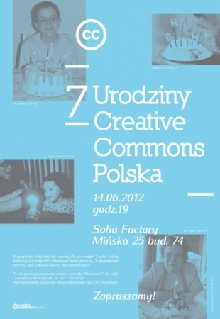 7 urodziny Creative Commons Polska