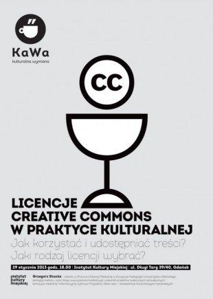 Licencje CC winstytucjach kultury – aktualizacja publikacji ispotkanie wGdańsku