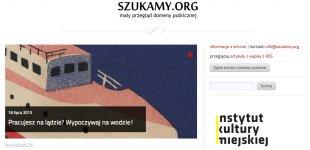 Szukamy.org – serwis odomenie publicznej