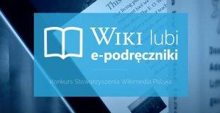 Wiki lubi podręczniki – konkurs wolnych ilustracji doe-podręczników