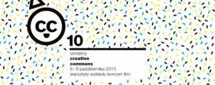 Zapraszamy nadziesięciolecie Creative Commons Polska wKrakowie